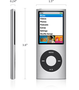 iPod nano-chromatic 8GB